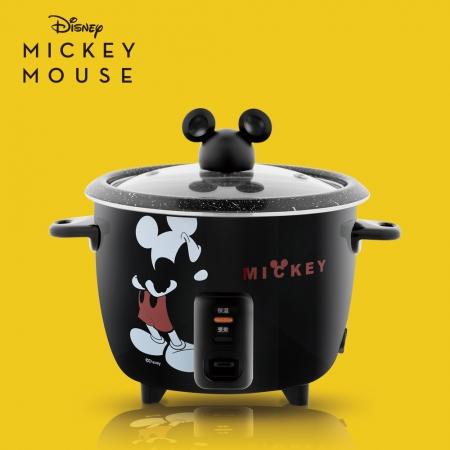 【Disney 迪士尼】米奇曜黑食物料理鍋(MK-HC2102)