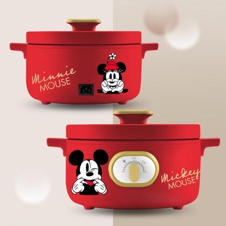 【Disney迪士尼】米奇米妮宴紅多功能鍋(MM-CD2101)