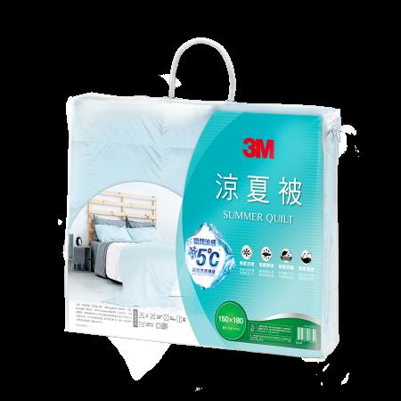 【3M 】防蹣可水洗科技纖維涼夏被-單人5X7 星空藍