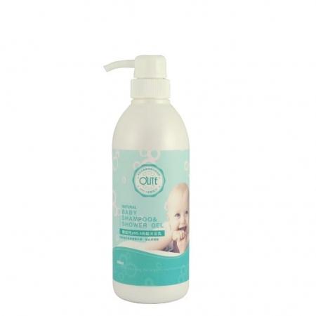 【OLITE 歐莉特】嬰幼兒PH5.5洗髮沐浴乳 580ML