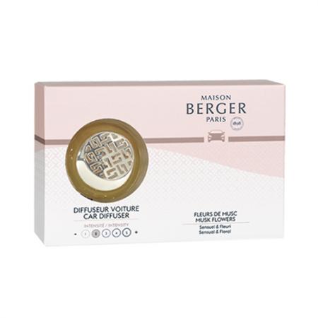 【柏格Berger】 6564 麝香花束/車用香氛套組(限量款)