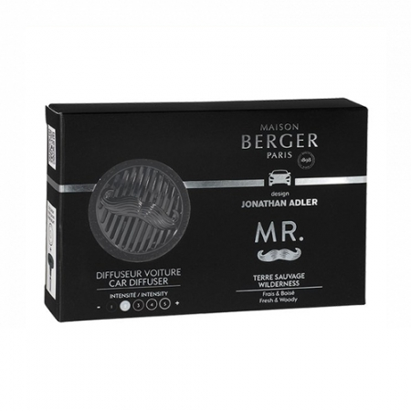 【柏格Berger】 6444 曠野白樺/車用香氛套組(限量款)