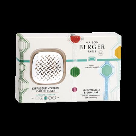 【柏格Berger】 6441永恆樹葉/車用香氛套組(限量款)
