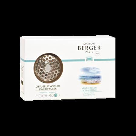 【柏格Berger】 6400海洋微風/車用香氛套組