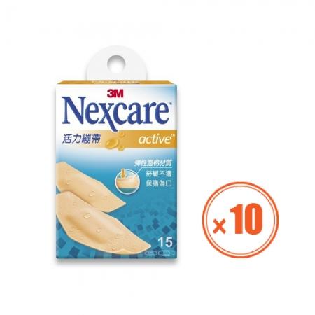 3M Nexcare活力繃帶 15片-10盒