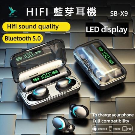 【蜂鳥】 HI FI藍芽耳機SB-X9