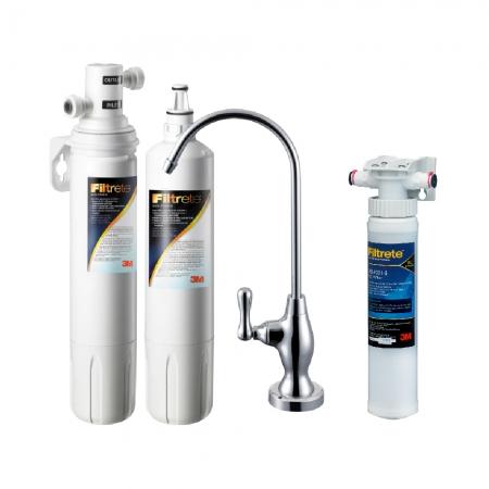【3M】 S003櫥下型可生飲淨水器1年組+前置PP泥沙過濾(含原廠安裝)
