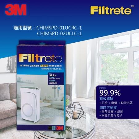 【3M】3M 超濾淨6坪/10坪清淨機 活性碳專用濾網 (CHIMSPD-01/02UCF-CA)