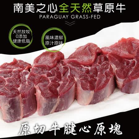 【豪鮮牛肉】草飼之星全天然牛腱切塊(500g±10%/包)-2包