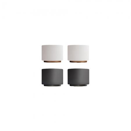 FELLOW|MONTY 雙層陶瓷咖啡拉花杯(3OZ 濃縮杯/2色)