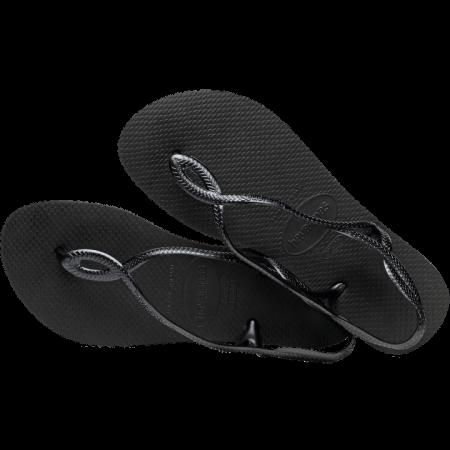 【哈瓦士havaianas】 8字涼鞋 黑色 巴西 人字拖 哈瓦士 女款►