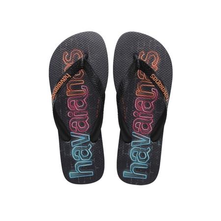 【哈瓦士havaianas】LOGOMANIA PRINT 鞋底大LOGO 藍色 巴西 人字拖 哈瓦士 男款