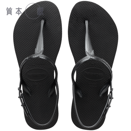 【哈瓦士havaianas】TWIST 涼鞋 一字鞋帶 黑色巴西 人字拖 哈瓦士 女款