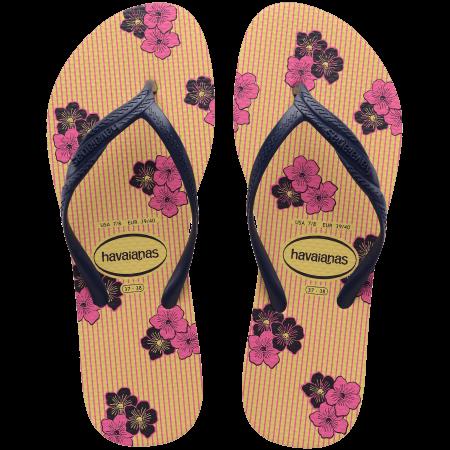 【哈瓦士havaianas】FANTASIA ROMANTIC 黃粉色 巴西 人字拖 哈瓦士 女款
