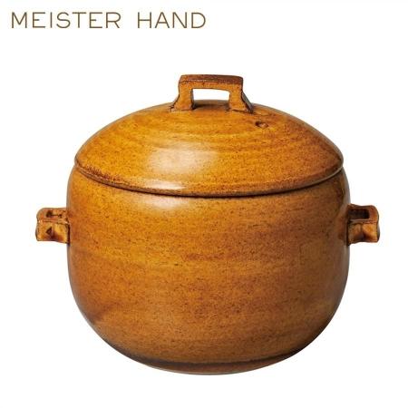 【MEISTER HAND 日本】OKATTE飯鍋 焦糖 直徑17cm 工匠之手