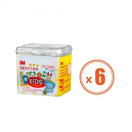 3M  兒童安全牙線棒(66支) 6盒
