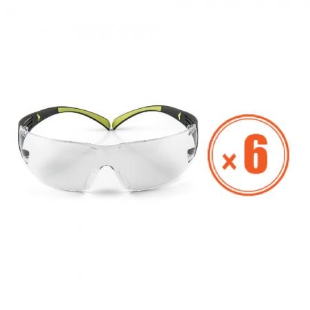 3M 安全眼鏡(SF401AF)*6支