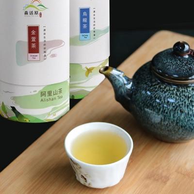 蔥媽媽 精選綜合茶葉禮盒(金萱烏龍、青心烏龍)-2罐(150g/罐)