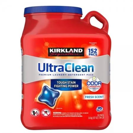 〔美式賣場〕Kirkland Signature 科克蘭 強效洗衣膠囊 152顆
