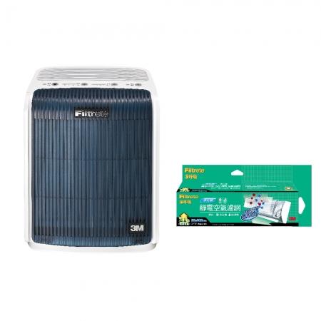 3M 極淨型6坪空氣清淨機FA-T10AB 加碼贈3M 淨化級捲筒濾網9808-RV