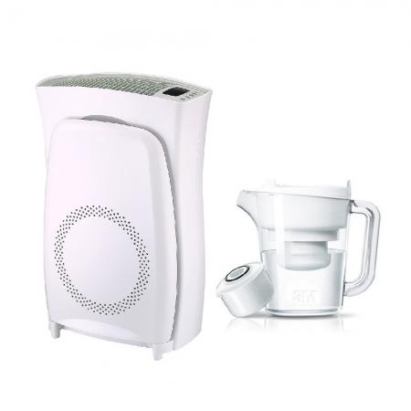 【3M】淨呼吸超濾淨型空氣清淨機(高效版)加碼贈3M 濾水壺一個(1壺1心)