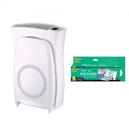 【3M】淨呼吸超濾淨型空氣清淨機(高效版)加碼贈3M 淨化級捲筒濾網9808-RV