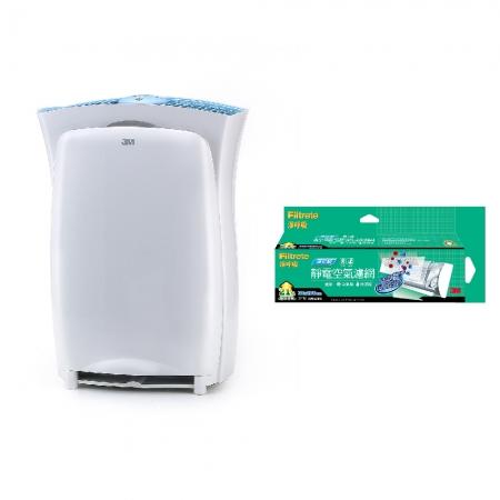 【3M】淨呼吸空氣清淨機-超濾淨型(進階版)加碼贈3M 淨化級捲筒濾網9808-RV