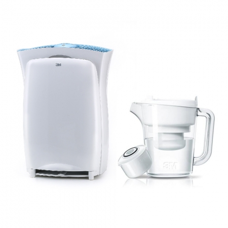 【3M】淨呼吸空氣清淨機-超濾淨型(進階版)加碼贈3M 濾水壺一個(1壺1心)