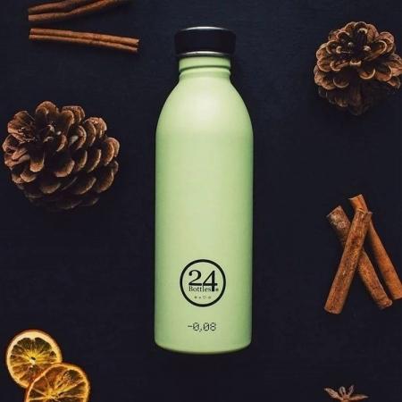 特殺【24Bottles】城市水瓶 500ml -開心果 超輕水瓶 不鏽鋼