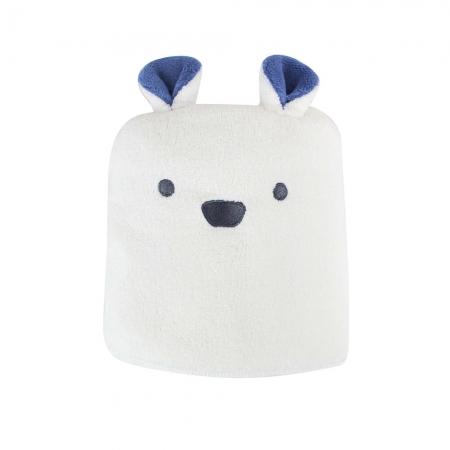 【CB JAPAN 日本】動物造型超細纖維浴巾-北極熊白