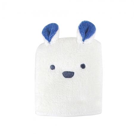 【CB JAPAN 日本】動物造型超細纖維擦頭巾-北極熊白