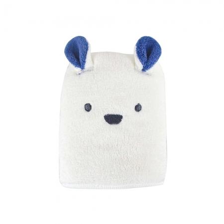【CB JAPAN 日本】動物造型超細纖維毛巾-北極熊白