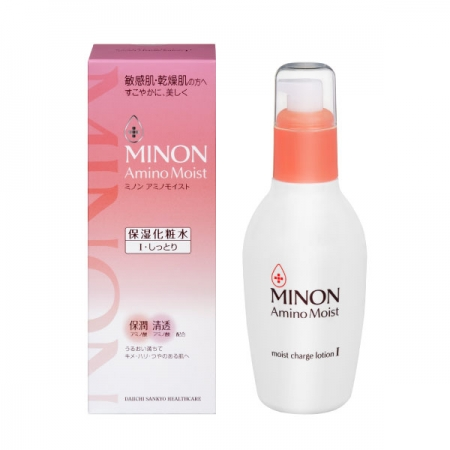 【MINON 蜜濃】保濕潤澤化妝水 150ml(I 清爽型 / II 濃潤型 二款可選)