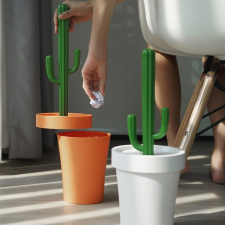 【QUALY】仙人掌-垃圾桶