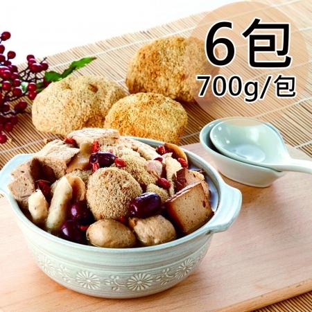 【如意生技】蛋素猴頭菇湯品任選6包(700g/包)