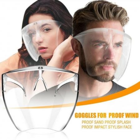 限時下殺-防疫小物!全方位防護面罩眼鏡-單入(防飛沫/防起霧)