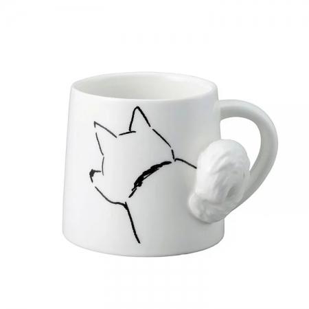 【sunart】日本sunart 馬克杯 -搖尾犬 趣味 送禮 可愛