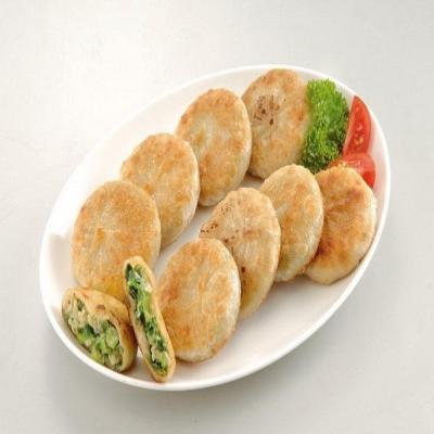 禎祥食品.宜蘭蔥肉餡餅(30粒/包,共2包)