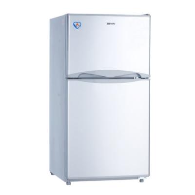 禾聯HERAN 127L雙門電冰箱 HRE-B1313 移動式玻璃層架