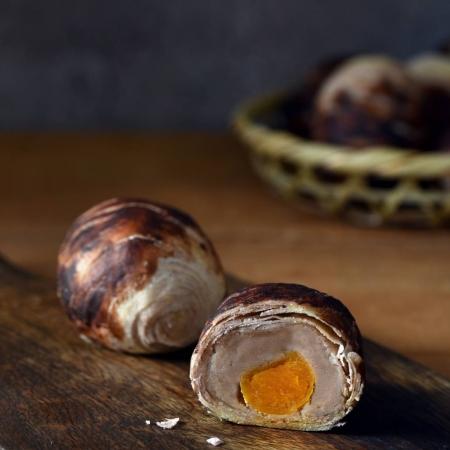 【老耿】創新芋頭蛋黃酥禮盒(12入/盒)