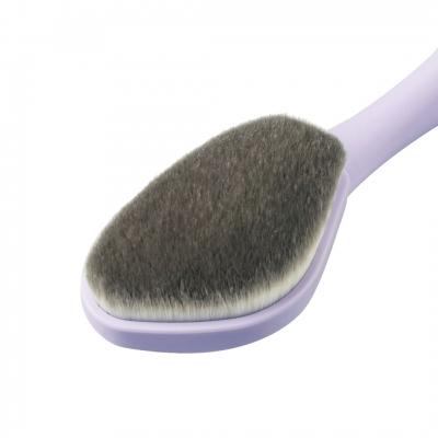 LSY 林三益 牙刷型粉底刷(贈)眉部修飾刷-紫