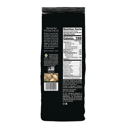 〔美式賣場〕Wonderful 胡椒鹽烤開心果 1.36 公斤