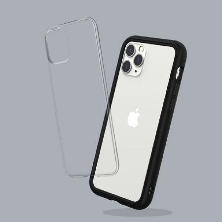 〔美式賣場〕犀牛盾 iPhone 11 Pro Mod NX 手機殼+耐衝擊正面保護貼 黑