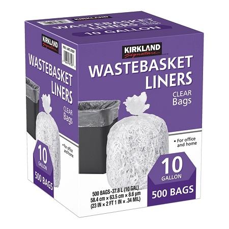 〔美式賣場〕Kirkland Signature 科克蘭 垃圾袋 37.8公升 (58.4 x 63.5cm) 500入