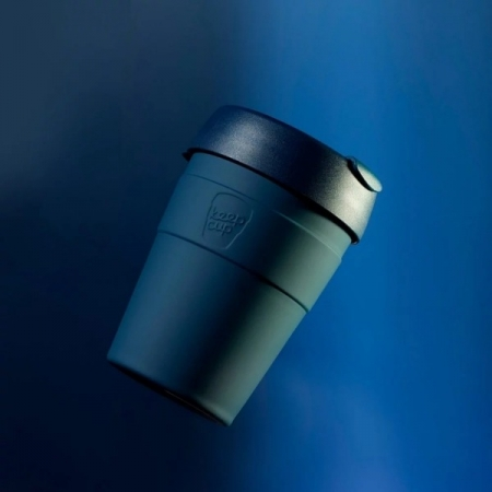 【KeepCup】雙層真空隨身杯340ml(12oz) M - 優雅藍