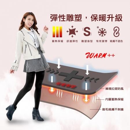 【MI MI LEO】科技機能保暖雕塑褲襪-3入