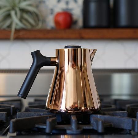 FELLOW|RAVEN不鏽鋼測溫沖茶壺(玫瑰金)