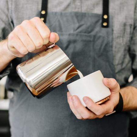 FELLOW|MONTY 雙層陶瓷咖啡拉花杯(6.5OZ 卡布杯/2色)
