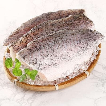 鮮凍金目鱸魚清肉排〔6包/組〕