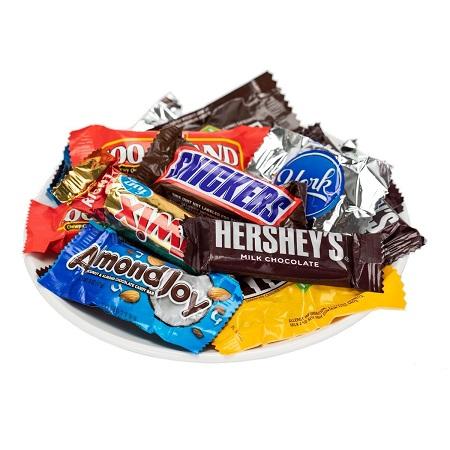 〔美式賣場〕Kirkland Signature 科克蘭袋裝綜合巧克力 2.55 公斤